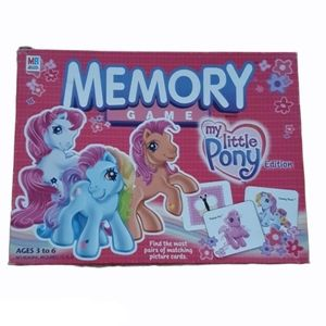 Memory Game My Little Pony Edition Ages 3-6